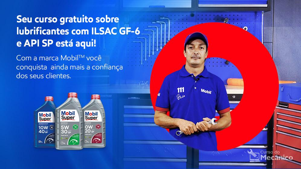 Curso Mobil - Novas tecnologias de lubrificação: Normas ILSAC GF-6 e API-SP