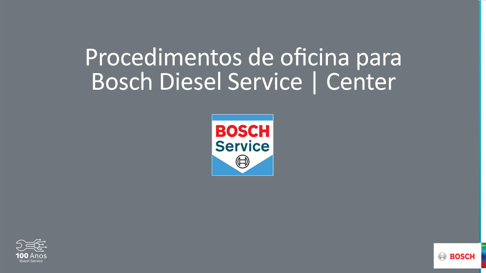 Procedimentos de Oficina para BDS-BDC