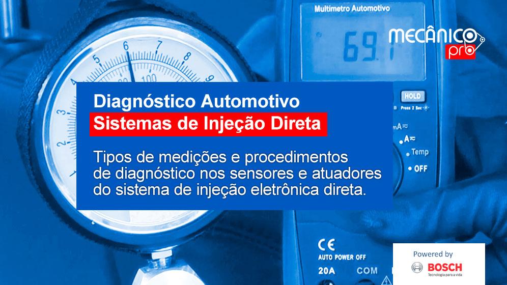 Diagnóstico de Sistema de Injeção Direta