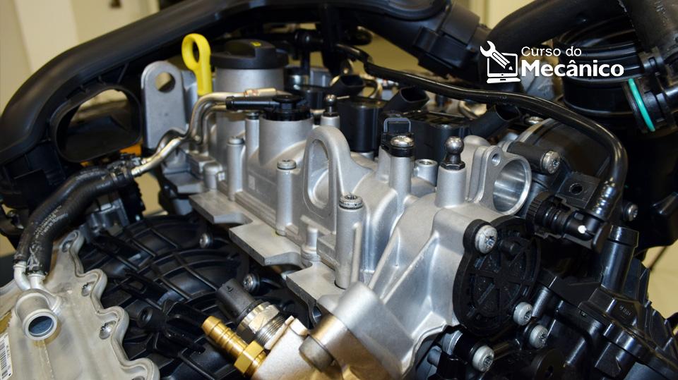 Detalhes do Motor VW EA211 1.0 TSI