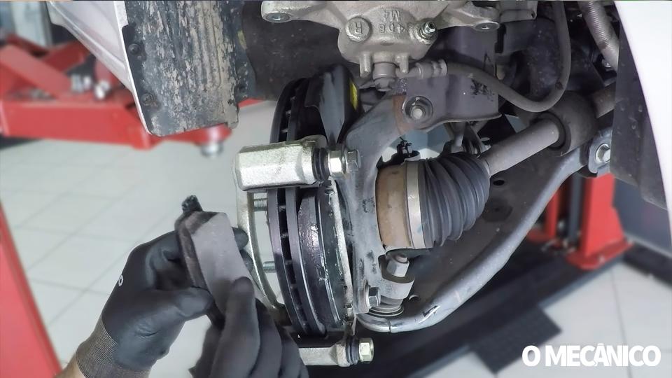 Manutenção dos freios dianteiros e traseiros do Hyundai HB20